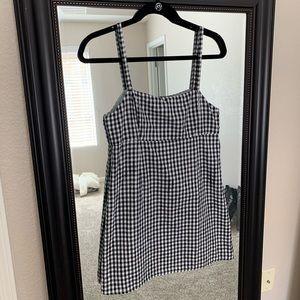 Cooperative Gingham Mini Dress